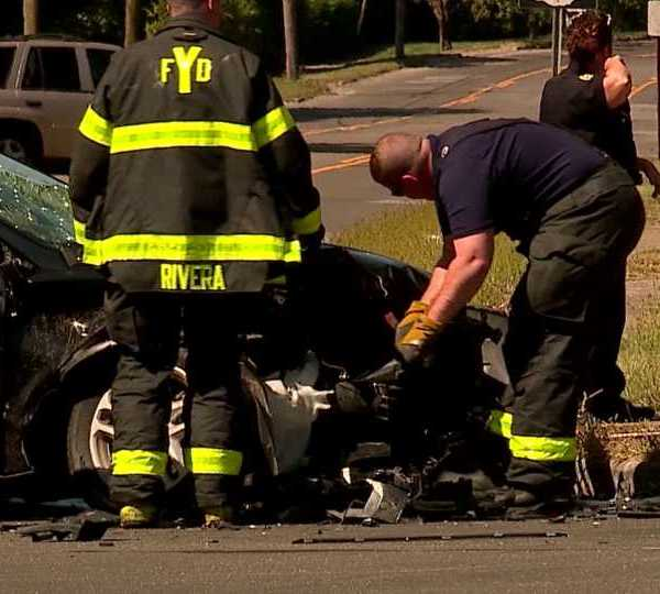 Youngstown Fire Department responds to car crash; to start charging for rescue services
