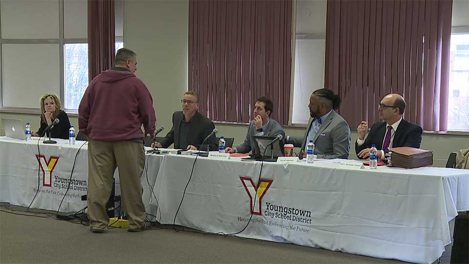 Youngstown City School District board meeting