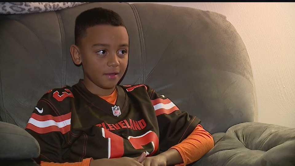 DaJuan Dukes, Jr. of Boardman who won NFL's Next Generation contest