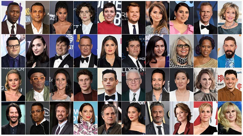 Oscars - Presenters