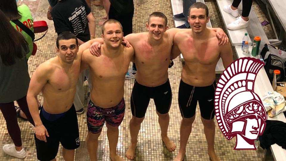 Noah Basista placed 7th in the 100-yard breaststroke and 8th in the 100-yard butterfly Saturday in Canton.