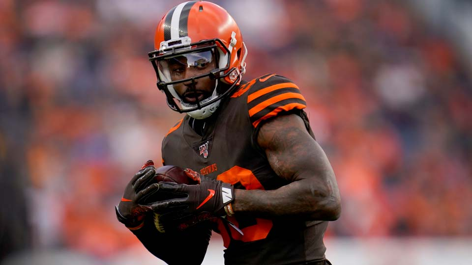 Cleveland Browns wide receiver Jarvis Landry