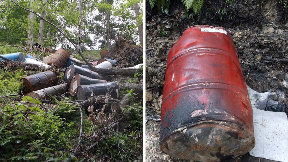 Columbiana County man, illegal dumping