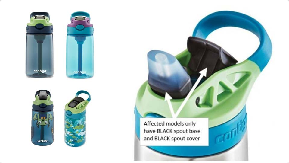 A large maker of insulated water bottles is recalling 5.7 million kids water bottles due to choking concerns.