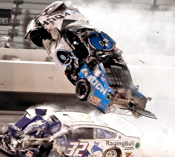 Ryan Newman crash, Daytona 500