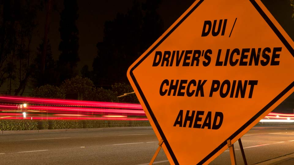 DUI Checkpoint generic