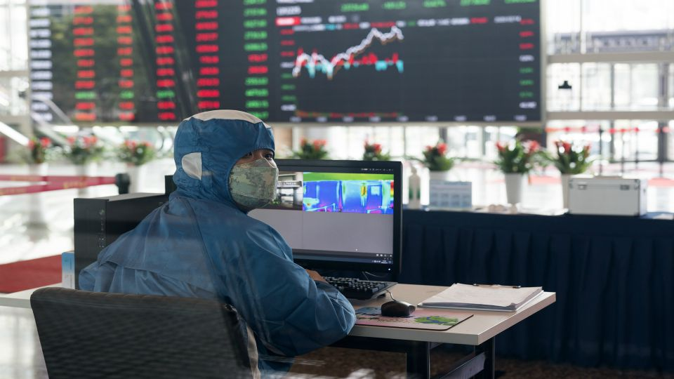 Global shares mostly rose Friday despite continuing concerns about the virus outbreak that began in China and its possible impact on global growth.