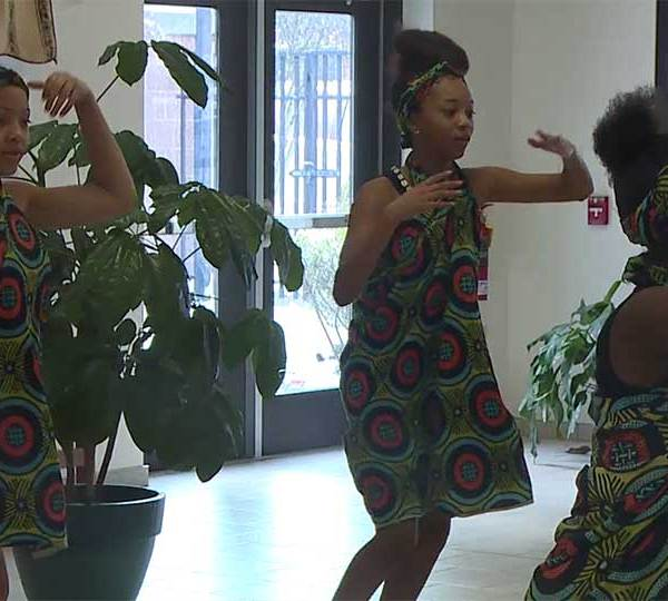 The Harambee Youth Organization is dancing and drumming its way around Youngstown for Black History Month.