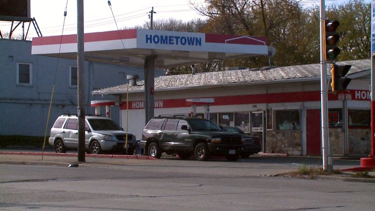 The 35th Hometown gas station at 35th and Townsend is open 24 hours. Its license is in jeopardy after a porn video was recorded inside and uploaded to an adult website.