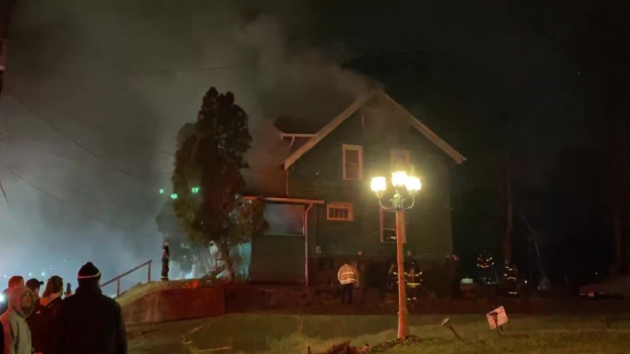 House fire on Saranac Avenue in Youngstown