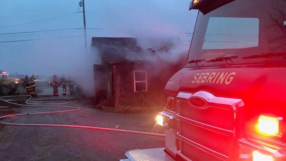 Knox Twp. farm market fire
