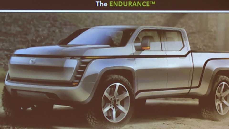 Lordstown Motors electric pickup truck Endurance