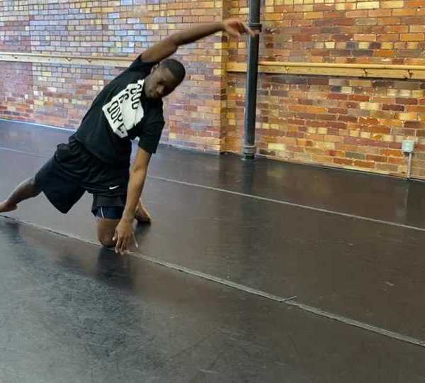 Michael A. Cotton, dancer, Youngstown