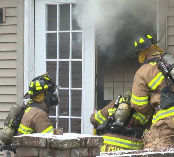 Mahoning County Career and Technical Center fire training in Canfield