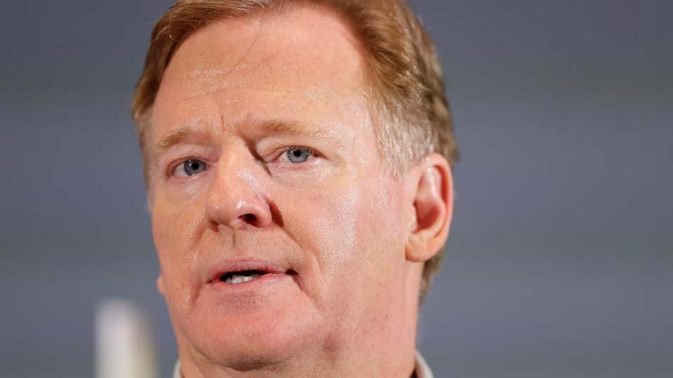Commissioner of the NFL Roger Goodell
