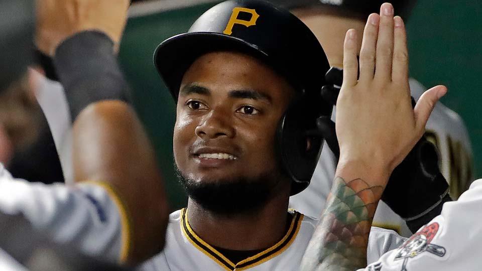 Pittsburgh Pirates' Pablo Reyes