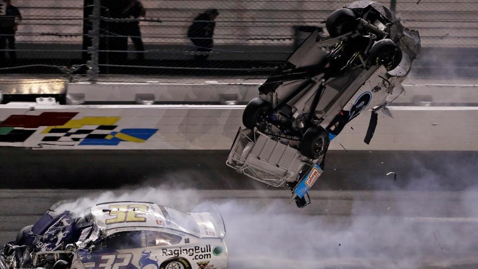 Ryan Newman Daytona 500 crash