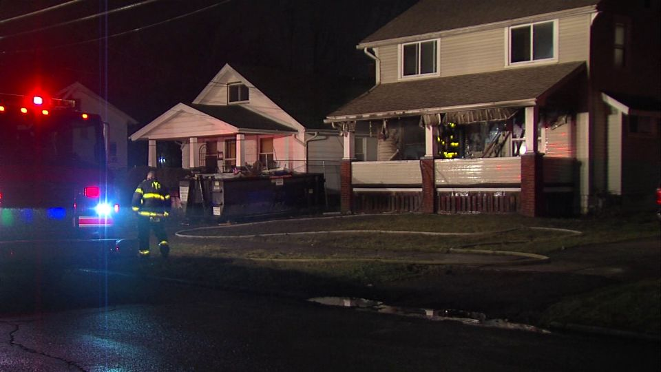 A house was damaged by fire on Sherwood Ave. in Youngstown.