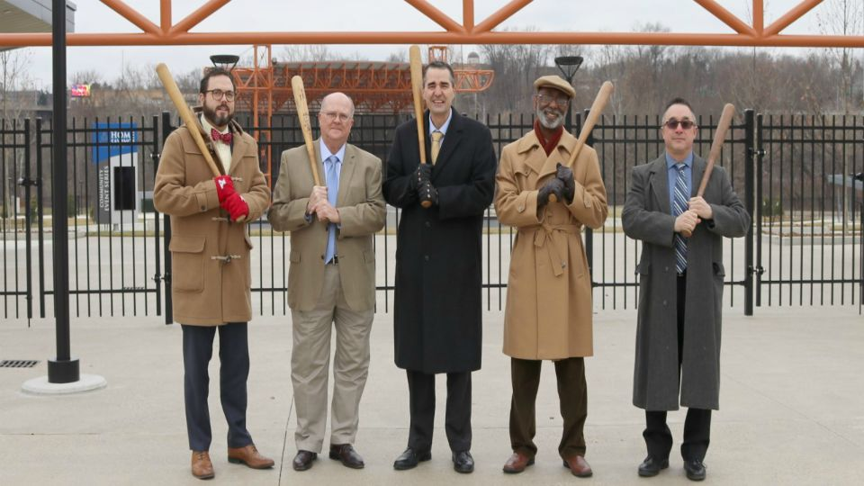 "A project to erect a statue depicting a historic handshake involving Youngstown native George ""Shotgun"" Shuba and baseball Hall of Famer Jackie Robinson received a large grant."