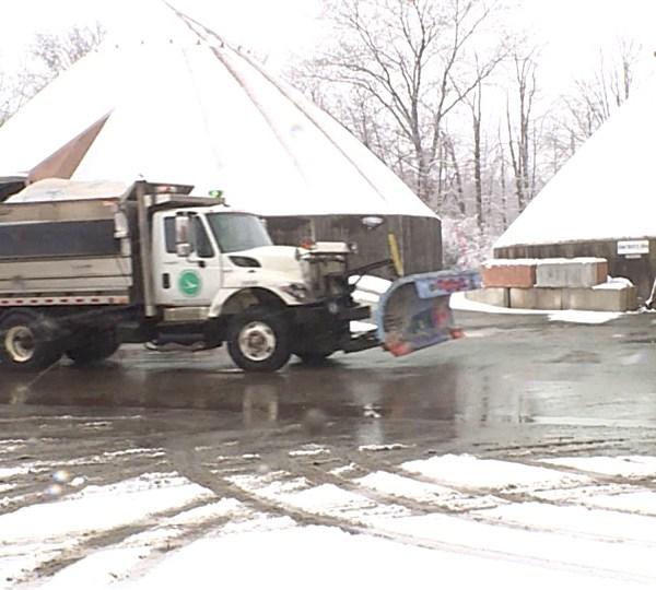 Snow plow, ODOT