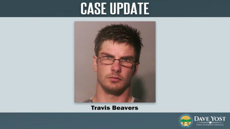 Travis Beavers was sentenced to life in prison for raping three children in south-central Ohio.