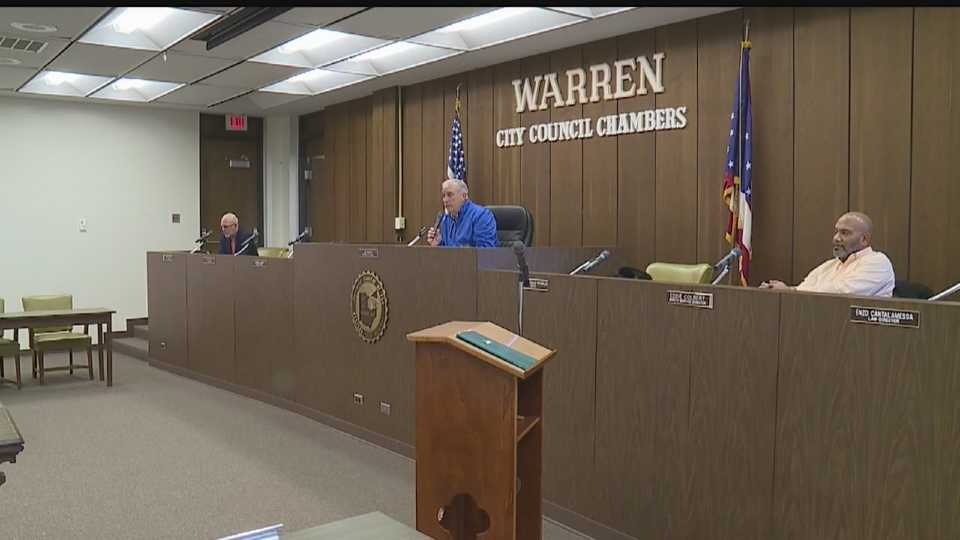 Warren City Council chambers