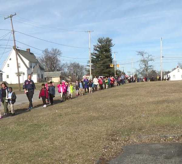 Youngstown Summit Academy holds Peace March for students for Black History Month