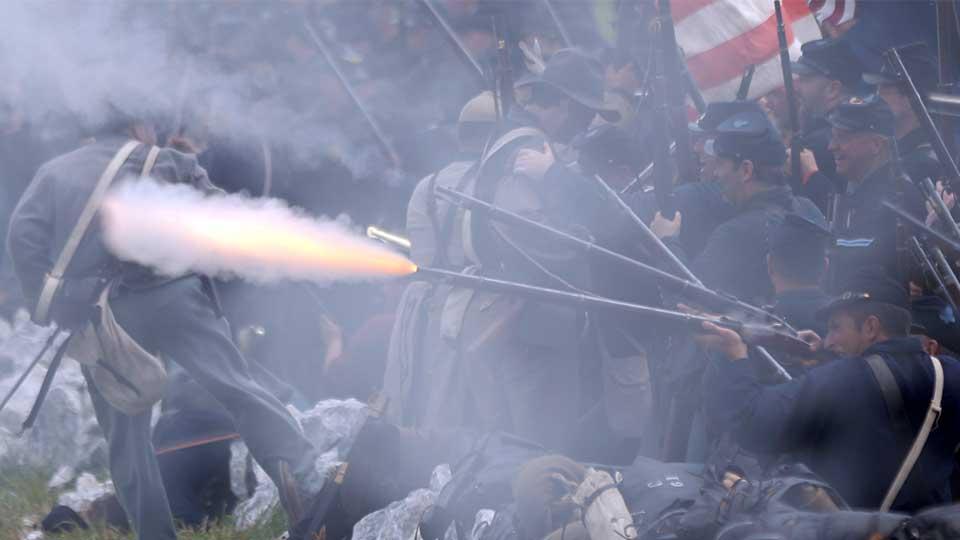 APTOPIX Gettysburg 150th Anniversary