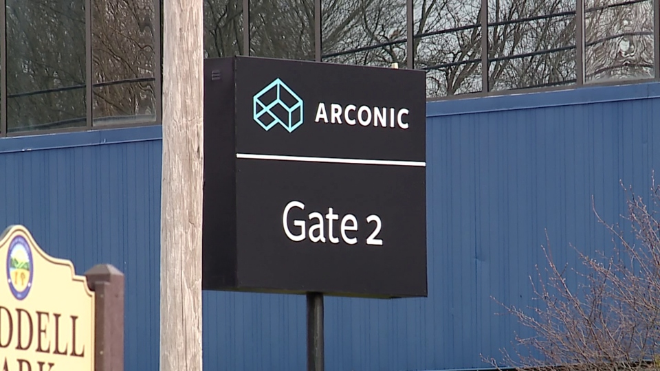 Arconic sign.