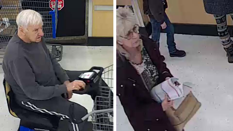 Austintown police look for purse theft suspects from Walmart.