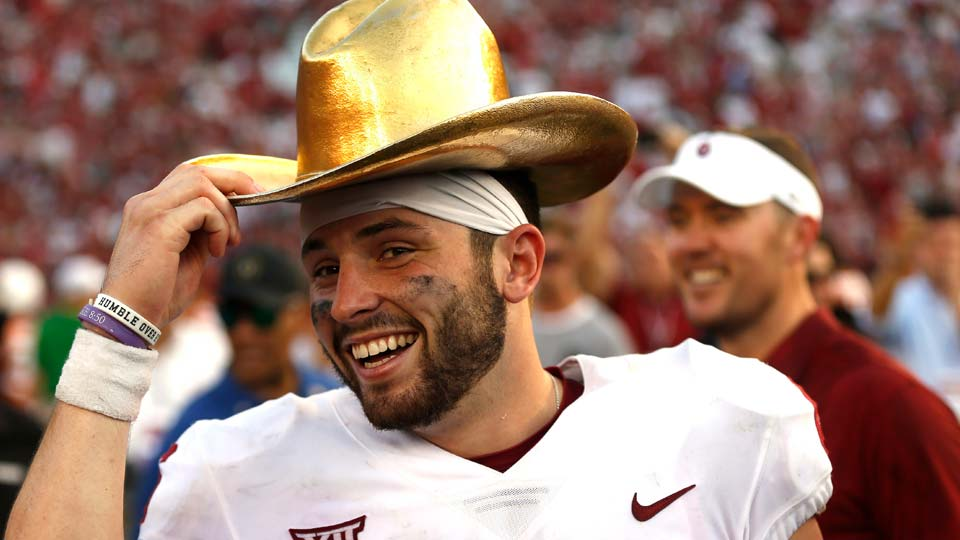Former Oklahoma quarterback Baker Mayfield to have statue unveiled at spring game