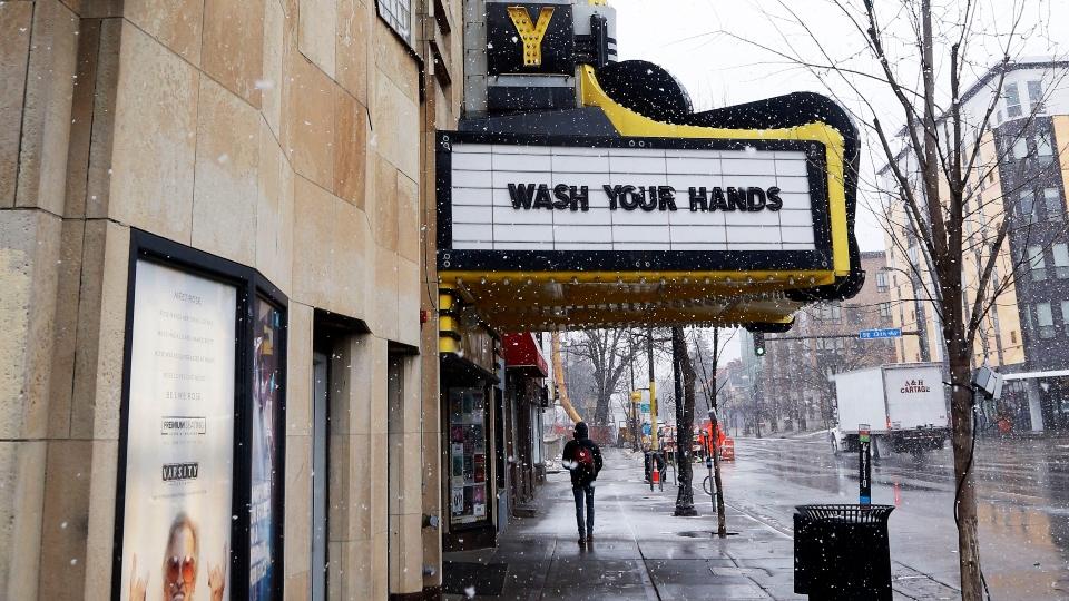 Cinemas close nationwide, studios push new movies into homes.