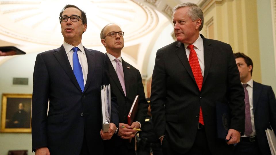 Trump, Congress agree on $2 trillion virus rescue bill.
