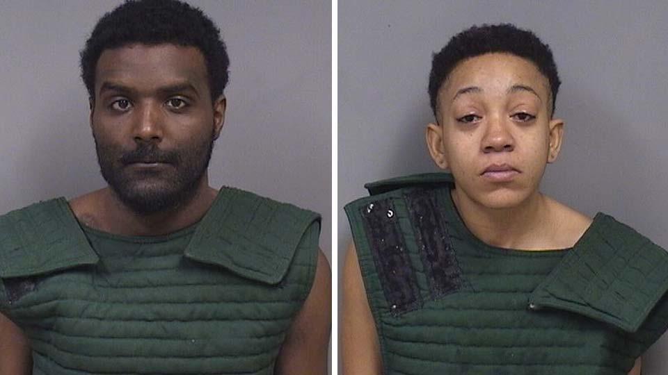Derek Carter and Sharday Dixon, accused of toddler murder