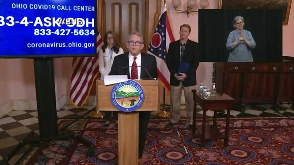 Governor DeWine briefing update.