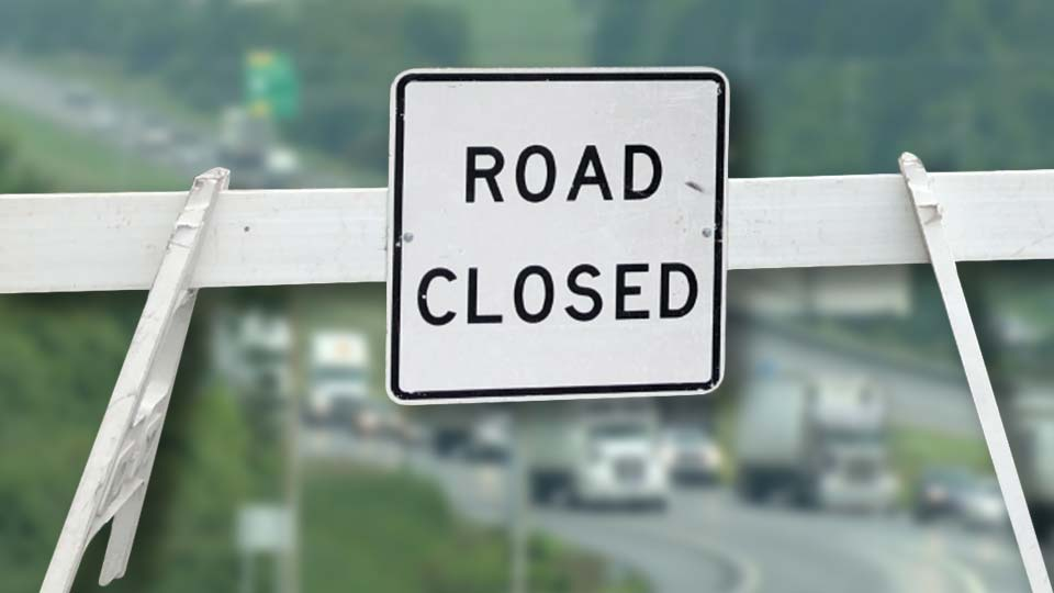 I-80 road closed