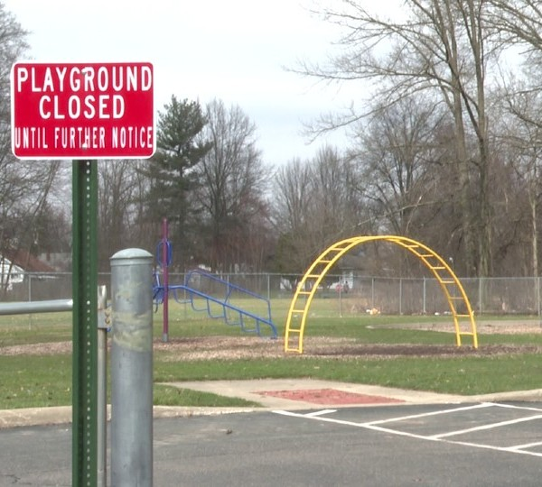 Playground closed until further notice