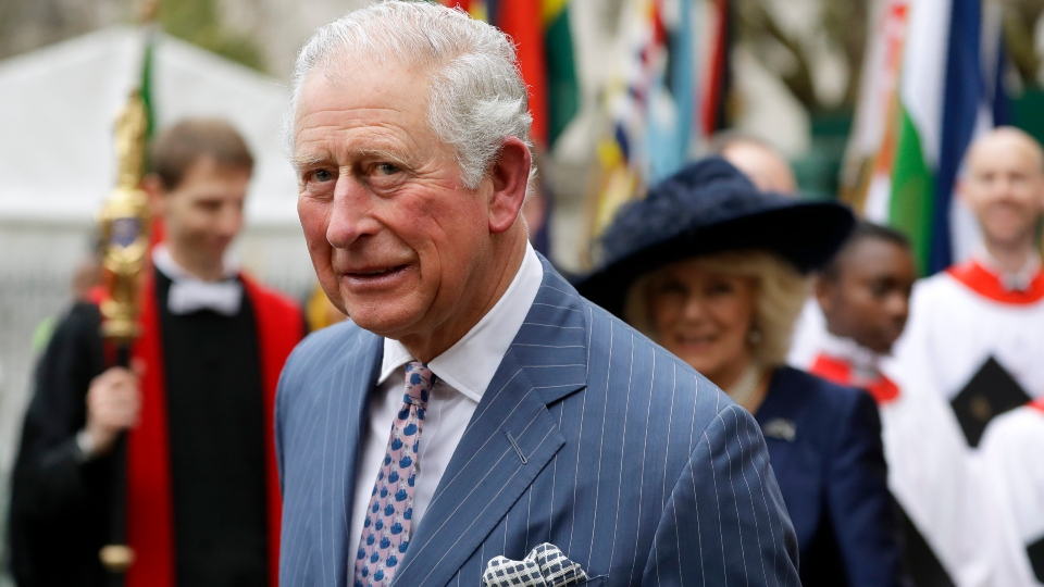 Britain's Prince Charles tests positive for new coronavirus.