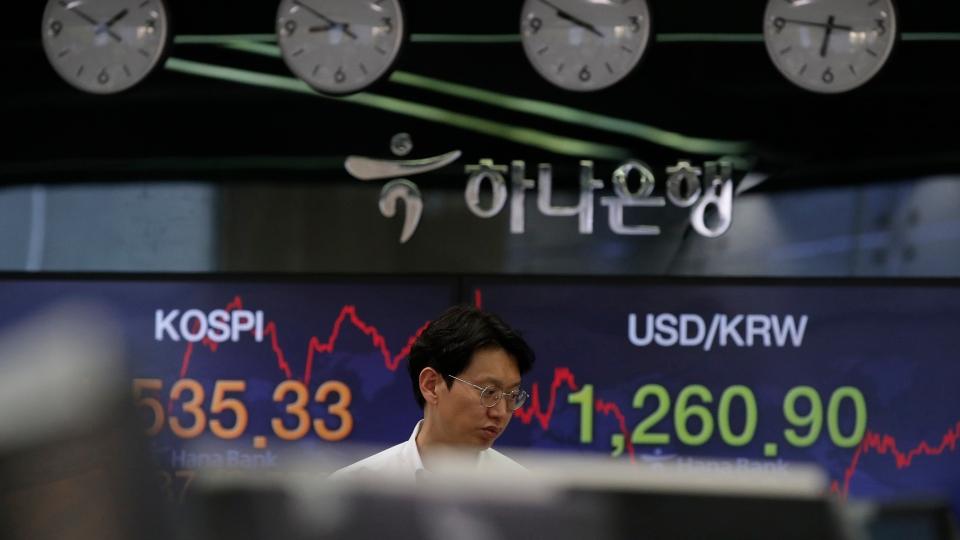 South Korea Financial Markets.