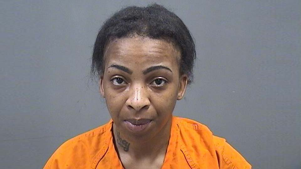 Taniqua Smith, facing drug charges after a search in Youngstown.