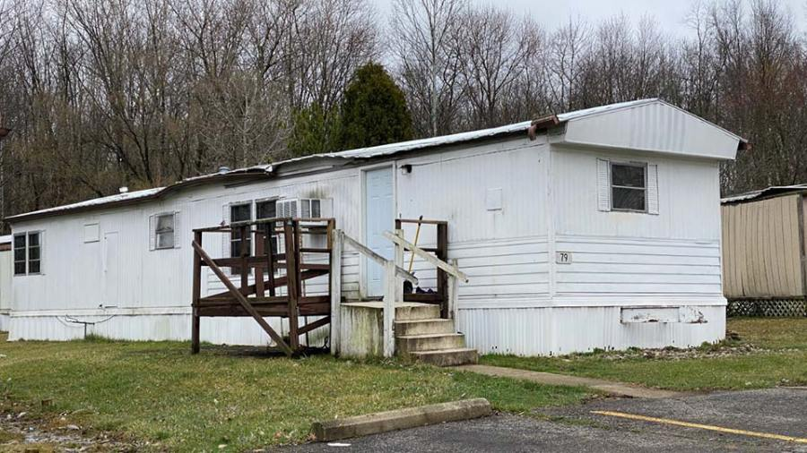 Weathersfield home Barcelona Drive where murder took place.