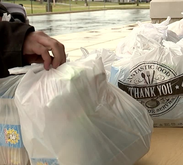 Youngstown Schools food distribution during coronavirus pandemic