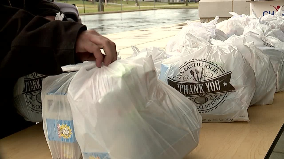 Youngstown Schools food distribution during coronavirus pandemic