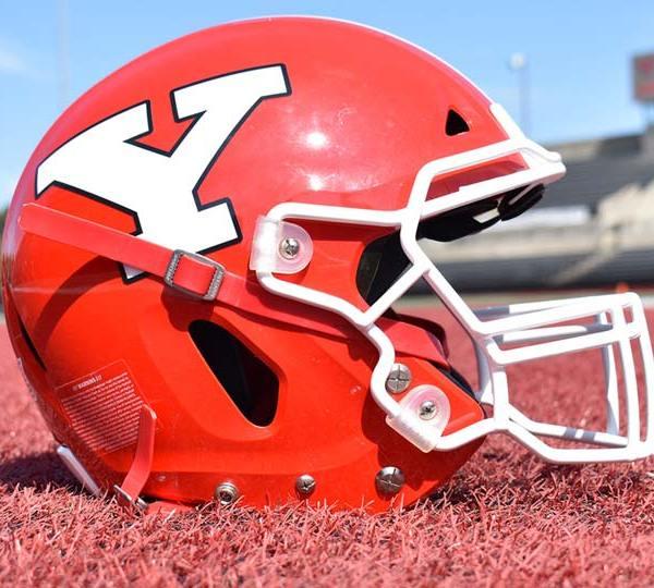YSU football helmet
