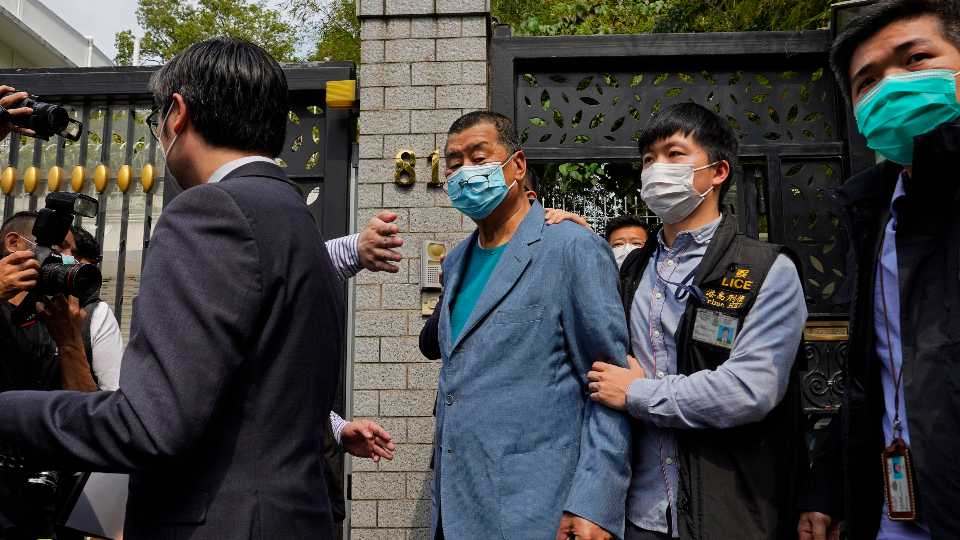 Hong Kong Pro-Democracy Arrests