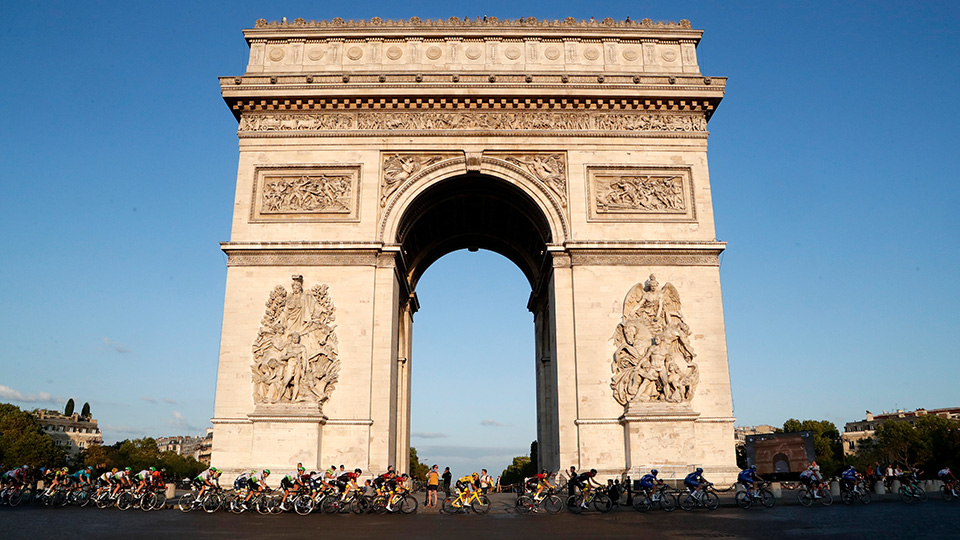 Virus Outbreak France Tour de France