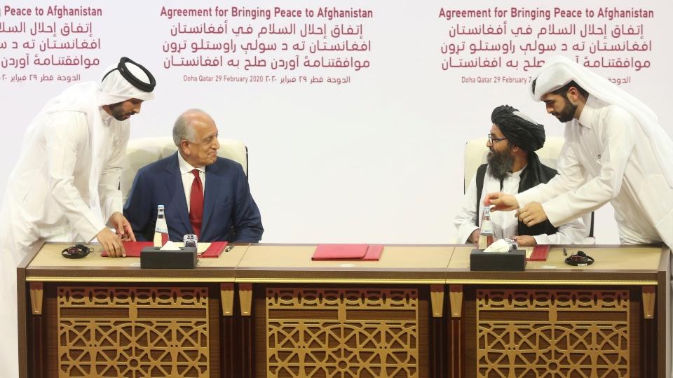 Taliban warn peace deal with US near breaking point.