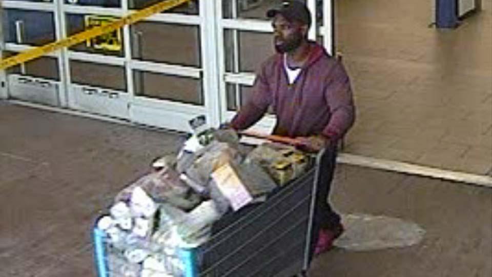 Austintown Walmart theft suspect