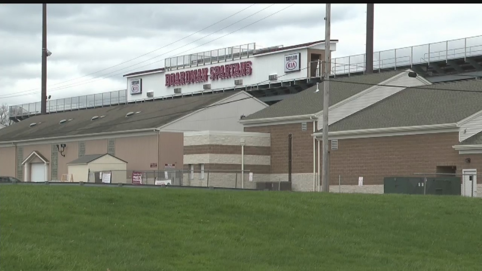 Boardman High School Stadium closed amid virus outbreak.