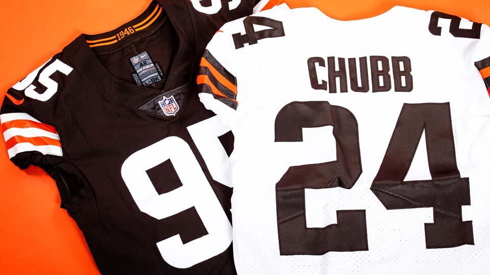 Cleveland Browns 2020 uniforms